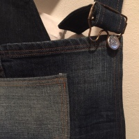 Jeans to Shortalls Tutorial
