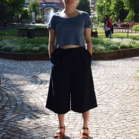 Culottes or How I Got Over my Fear of Skorts